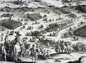 Spanish tercios at the Siege of Breda 1642.