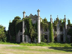 Coolbawn House Wexford, destroyed 1923. (Courtesy of Buildings of Ireland website)
