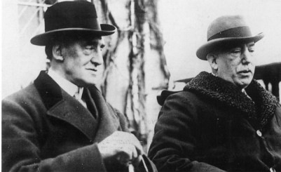 Unionist leaders James Craig and Edward Carson in 1922.