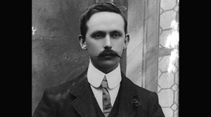 Eamon Ceannt, leader of the Volunteers Dublin Brigade, Fourth Battalion.