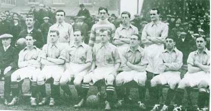 A pre-partition Irish team in 1914.