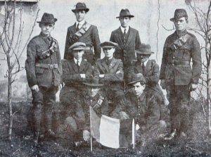 Irish Volunteers in Louth (Courtesy Irish Volunteers website)