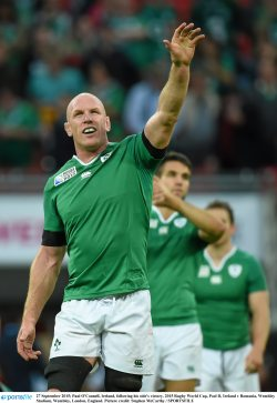Paul O'Connell bids farewell to professional rugby career