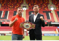 One fight at a time WBO middleweight world champion Andy Lee