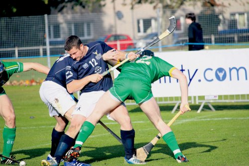 Celtic Cousins collide in Shinty-Hurling Internationals