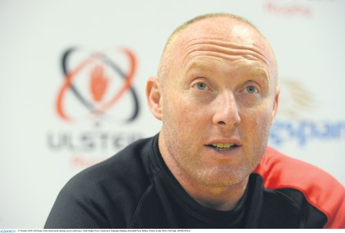 European Rugby back on the agenda Ulster head couch Neil Doak