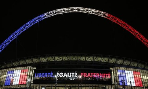 French Anthem sung at Wembley