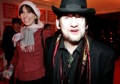 SHANE MCGOWAN pictured at the Meteor Ireland Music Awards 2006 - All he wanted for Christmas was his two front teeth