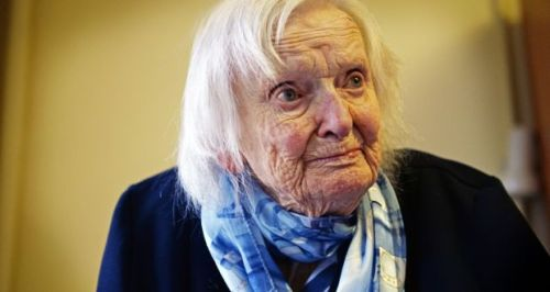Image courtesy of The Irish Times - Leslie Greer Irish woman honoured for code-breaking during WW2