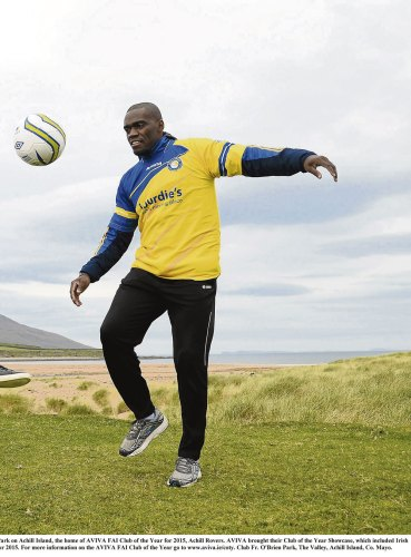 African World Cup star making comeback... with Achill Rovers