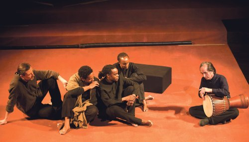 Horrors of war recalled on minimalist stage