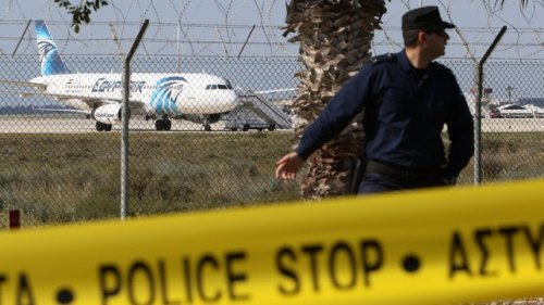 Reports suggest Irish person on board hijacked EgyptAir plane