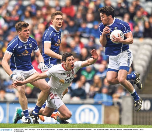 Tyrone class too much for brave Breffni men