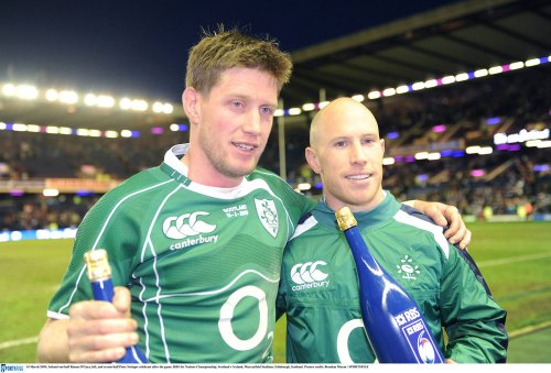 Irish Rugby Hall of Fame for Stringer and O'Gara