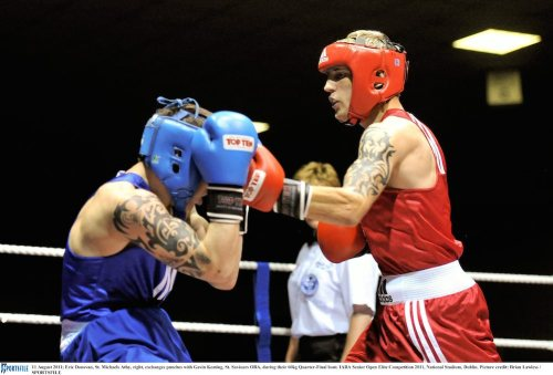 Amateur star Eric Donovan aims for Pro glory