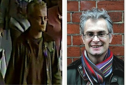 Library Campaigner Robbie Gibson still missing