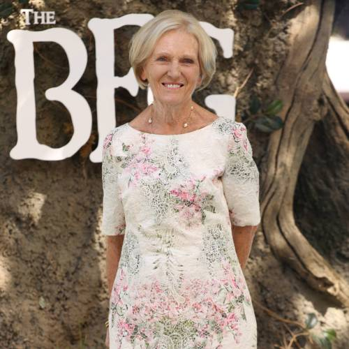 Mary Berry Bake Off double entendres