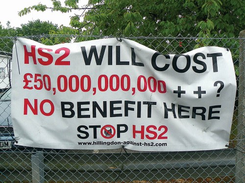 HS2 marketed incorrectly