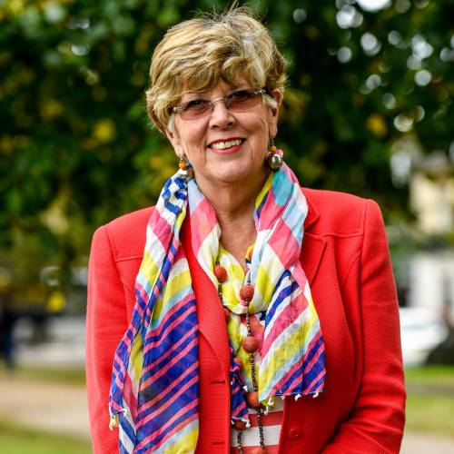 Cookery royalty Prue Leith  Bake off host