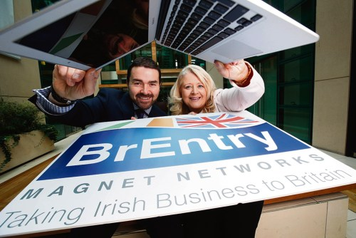 Brentry initiative Irish businesses Wembley