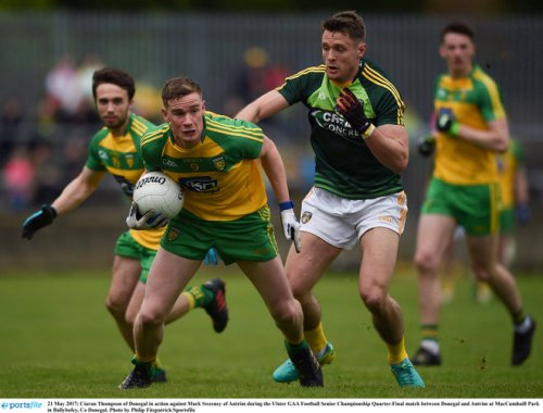 donegal antrim ulster championship quarter final
