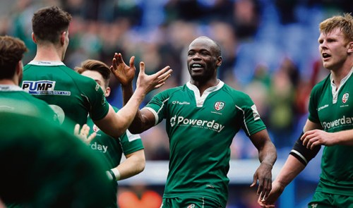 RUGBY LONDON IRISH RFC CHASE GLORY