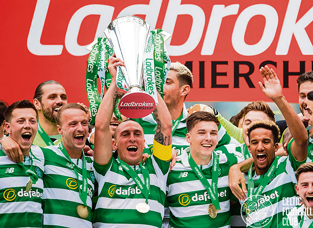 Celtic Invincibles make history