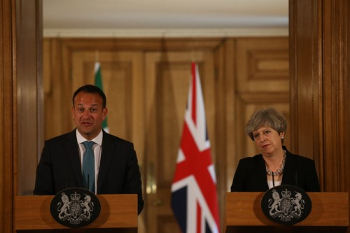 Taoiseach Leo Varadkar Downing Street prime minister Theresa May