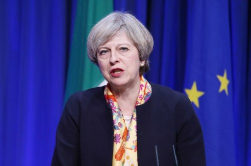 theresa may general election conservative queen prime minister
