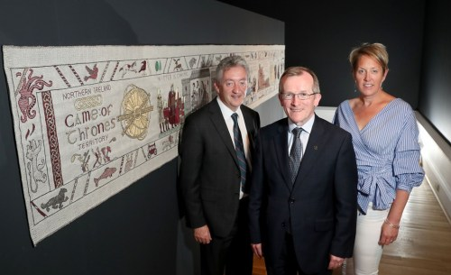Tapestry marks Tourism Irelands GOT campaign