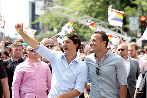 Taoiseach attends Canadian Pride Parade
