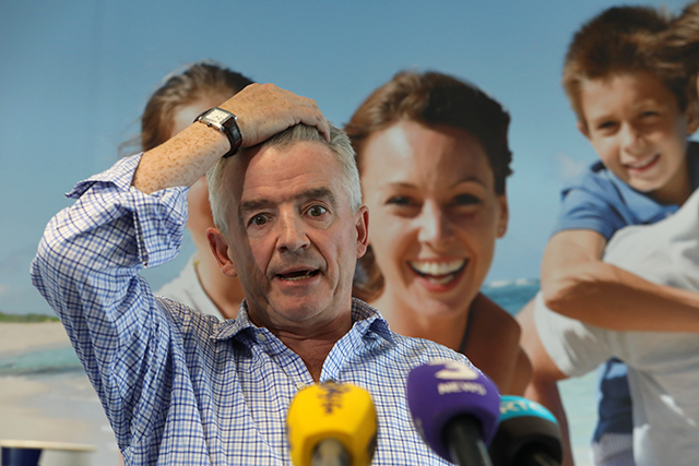 Ryanair pilots not threatening industrial action, Michael O'Leary says