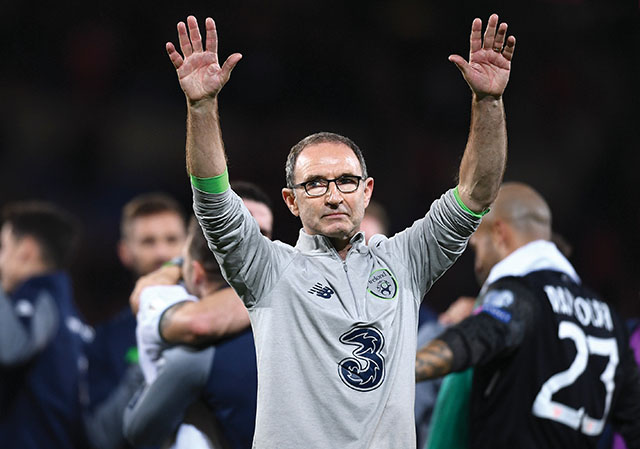 Martin O'Neill wants Ireland to draw on past experiences
