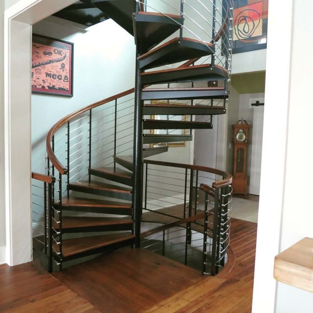 Diy Spiral Staircase As Low As 690 The Iron Shop Spiral Stairs   Craigslist Spiral Staircase For Sale By Owner   Stairs Design   School   Handrail   Stair Case   Metal