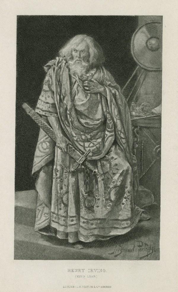 Henry Irving as King Lear