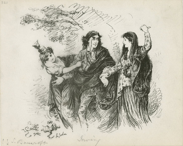 Henry Irving between England and America
