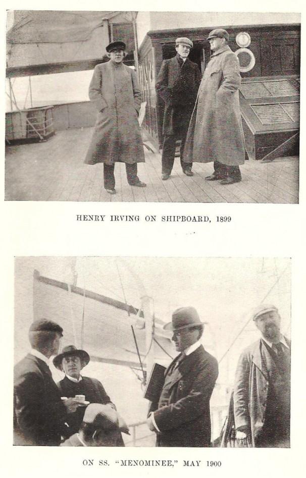Henry Irving Shipboard