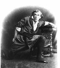 Henry Irving as Mathias in 'The Bells'