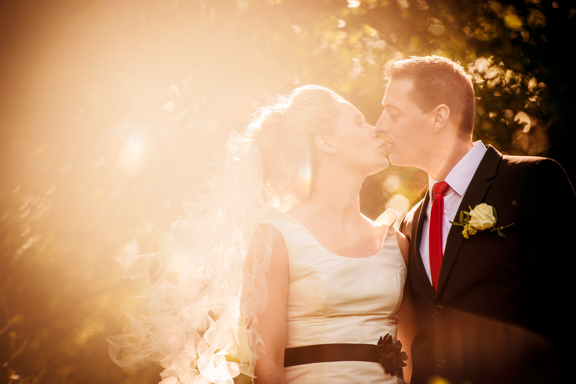 Bryllupsfotografering i naturen