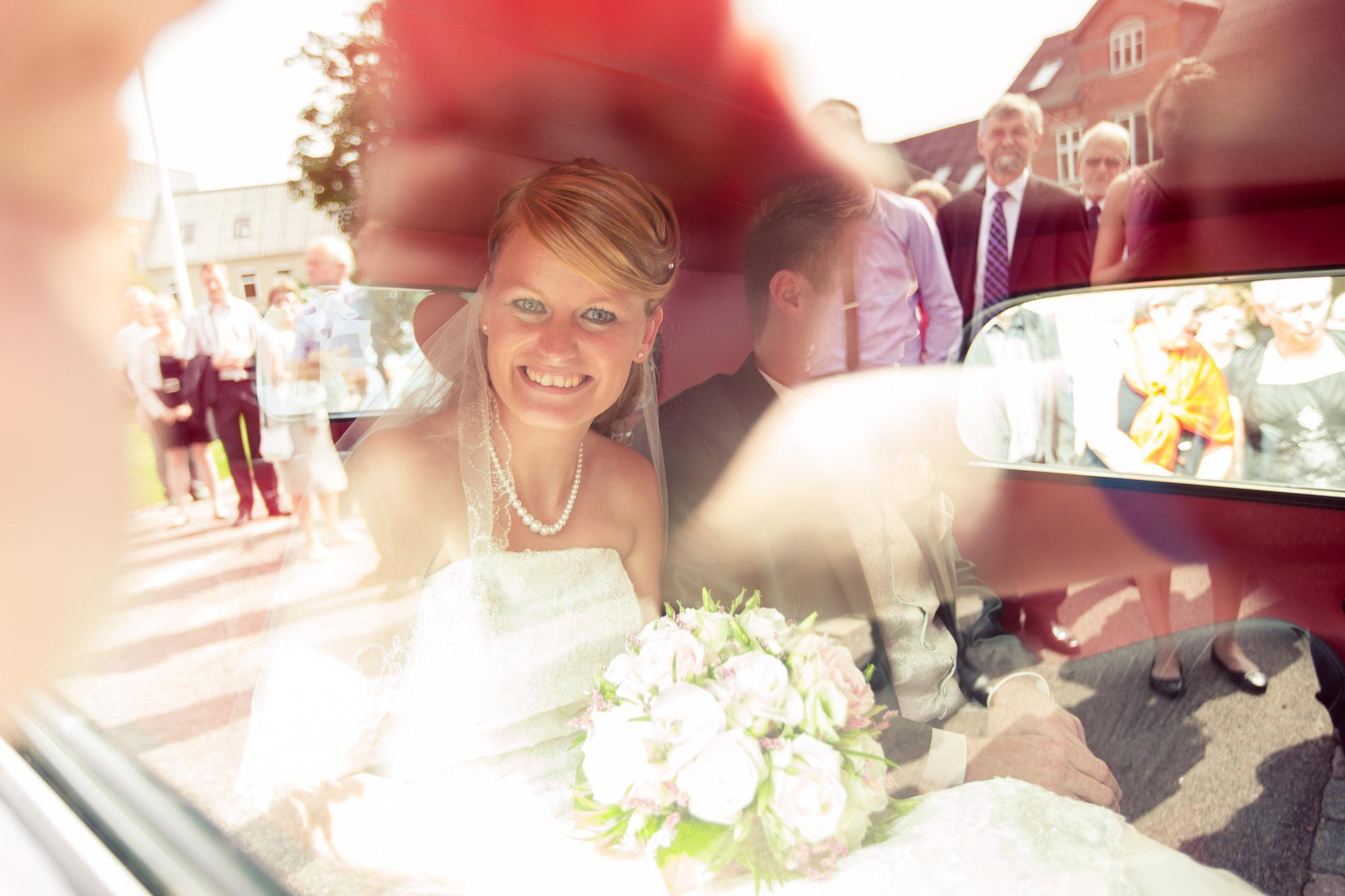 Kreativt og hurtigt dokumentarisk bryllupsbillede