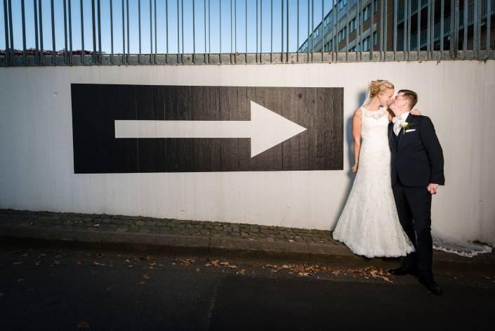 Friske og anderledes bryllupsbilleder