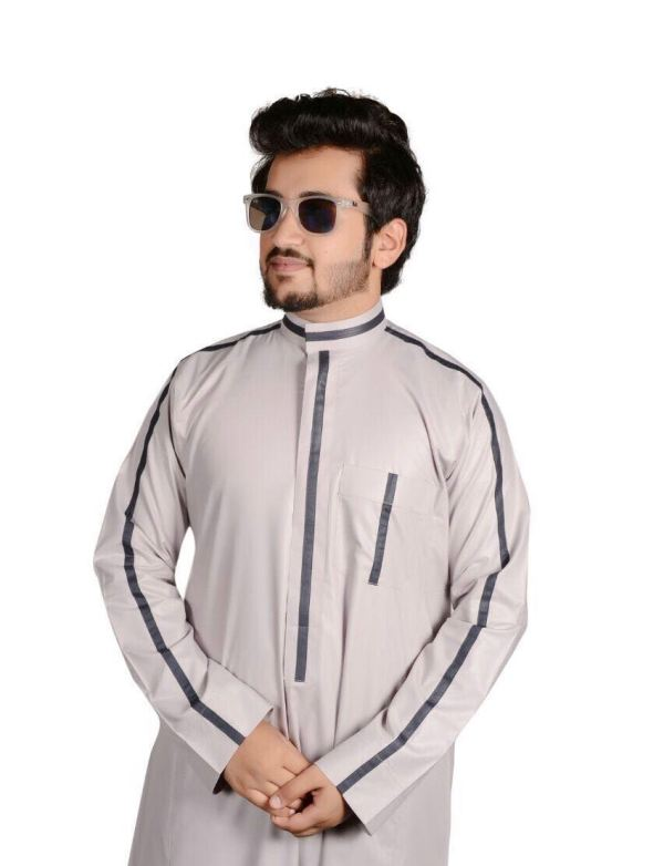 Alasalah thobe for men jubbah 402016 - Q&S Islamic Store