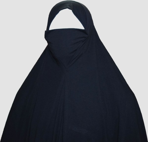 A picture of 2 in 1 Yusra scarf niqab by Q&S Islamic Store