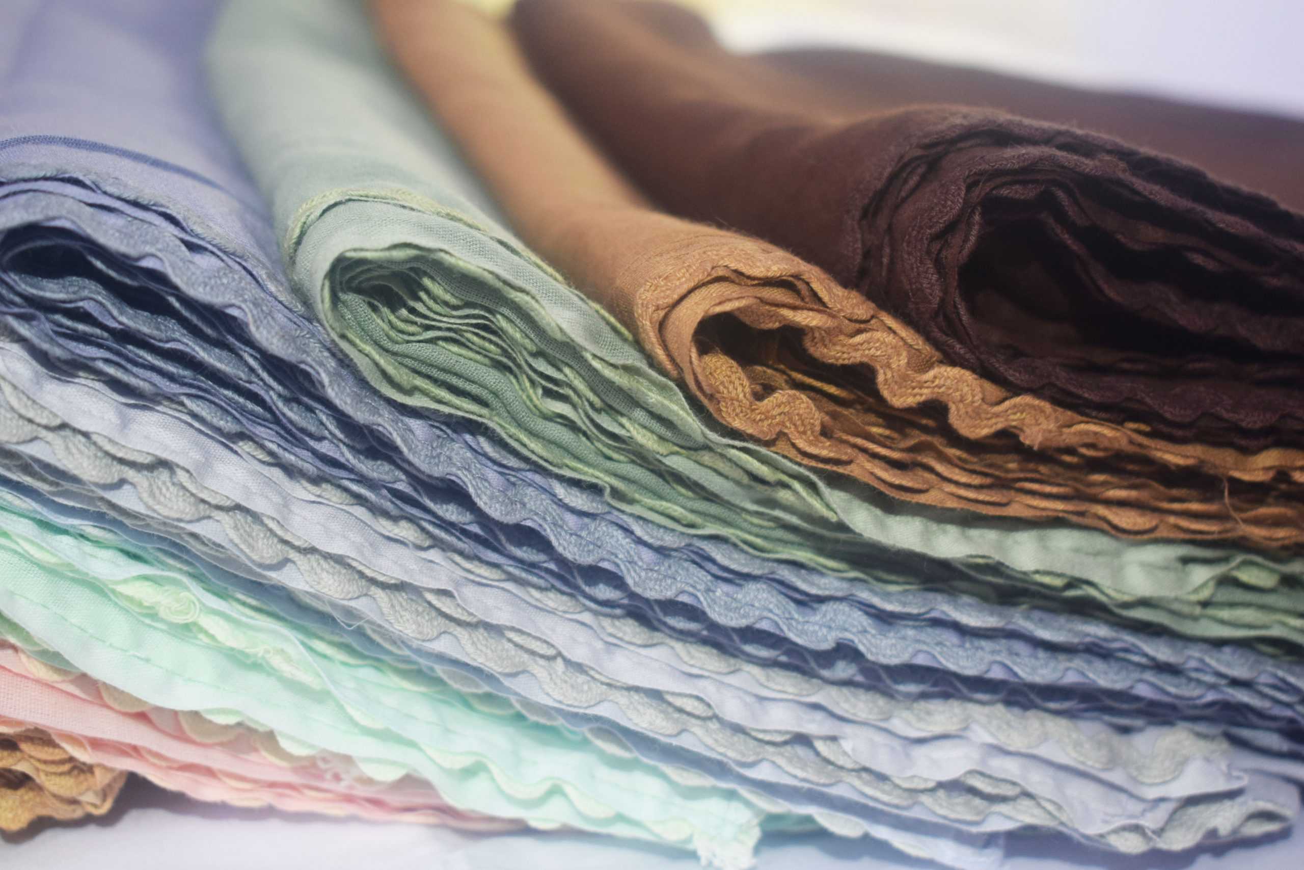 Cotton Wavy Scarves by Q&S Islamic Store