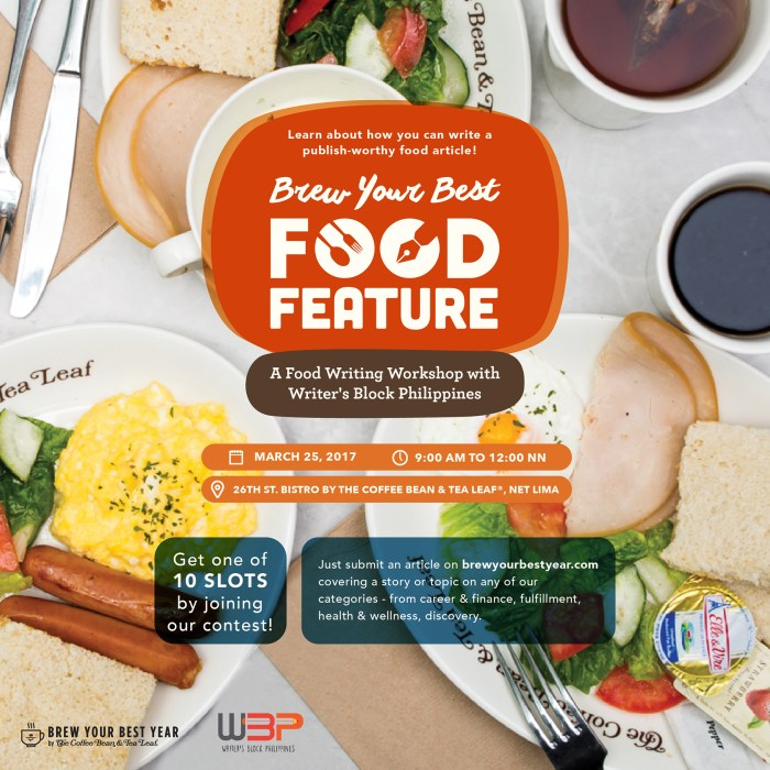 brew your best food feature poster