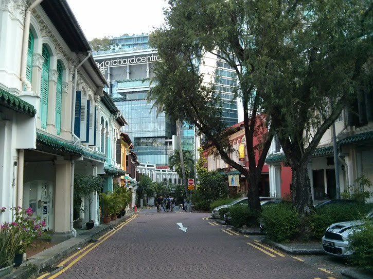 Way to Orchard Road