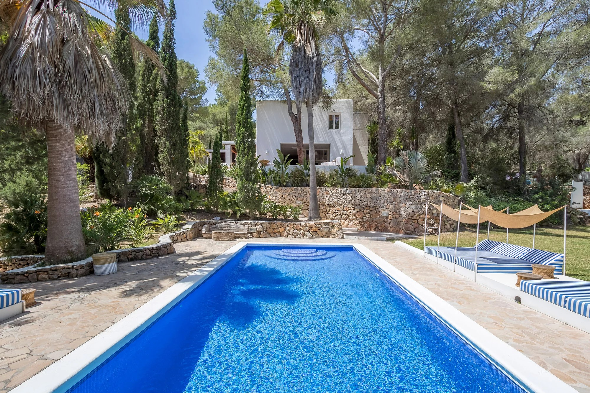 Can Mimosa Porroig Ibiza 6 bedroom luxury villa