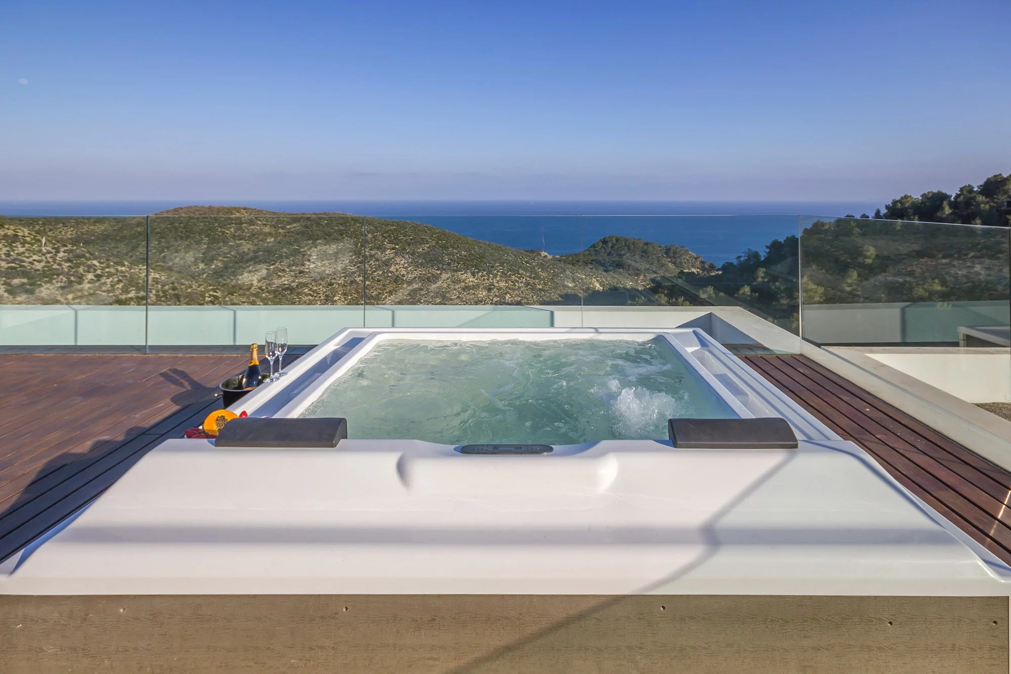 Luxury villa for rent in Ibiza Roca Llisa 6 bedrooms