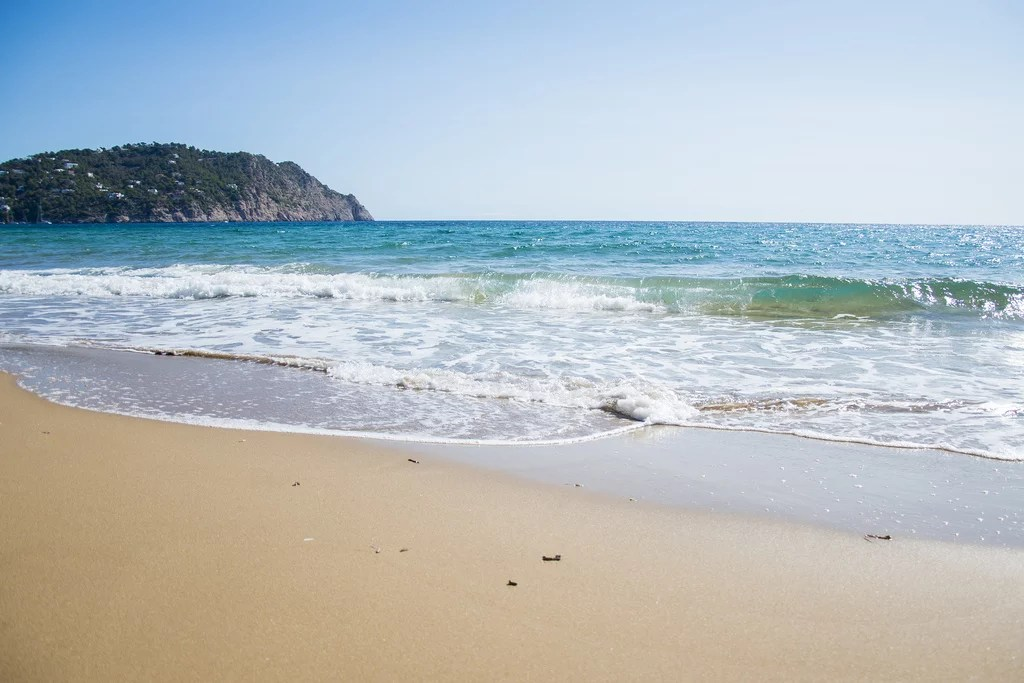 Best ibiza beaches Aguas blancas