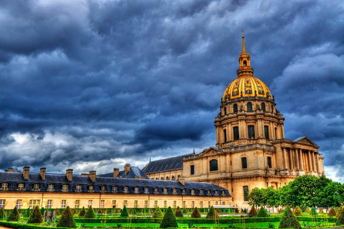 View of the Les Invalides